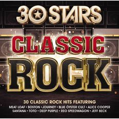 30 Stars Classic Rock CD by Various Artists 2Disc