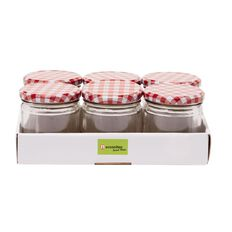 Necessities Brand Preserving Jar 300ml 6 Pack