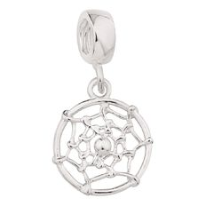 Ane Si Dora Sterling Silver Dream Catcher Charm