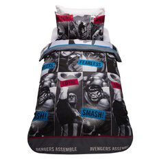 Avengers Duvet Cover Set Fearless