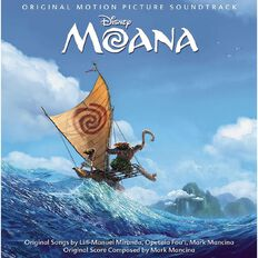Moana CD by Original Soundtrack 1Disc