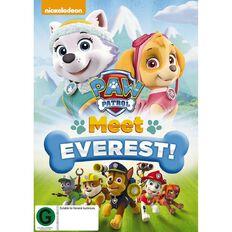Paw Patrol Meet Everest DVD 1Disc