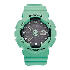 Casio Baby-G Ladies Rubber Quartz Watch BA111-3A