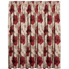 Elemis Curtains Harper Ruby