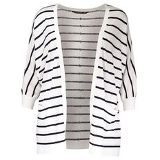 Kate Madison Striped Batwing Cardigan