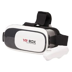 VR Box Kit with Headset & Remote Bluetooth Controller