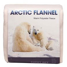 Arctic Flannel Sheet Set Solid