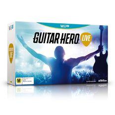 Nintendo Wii U Guitar Hero Live