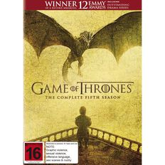 Game of Thrones Series 5 DVD 5Disc