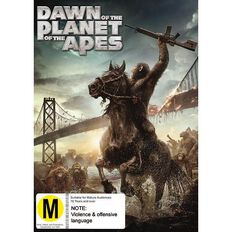 Dawn of The Planet of The Apes DVD 1Disc