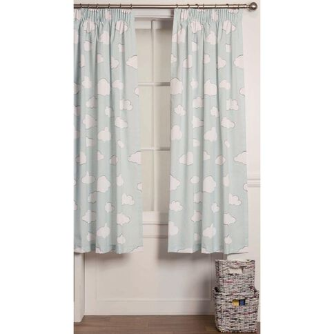 Kids Napping Curtains Cloud Block Out | The Warehouse
