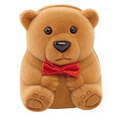 KIDZ 9ct Gold Bear Box Earrings