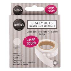 Rosie's Studio Crazy Dots 12.5mm (1/2 Inch) 200 Pack