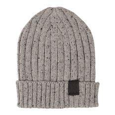 WZ Young Boy's Ribbed Beanie
