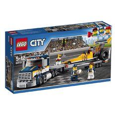 LEGO City Dragster Transporter 60151