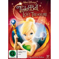 Tinkerbell And The Lost Treasure DVD 1Disc