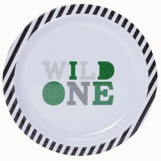 Living & Co Kids Plate Wild One
