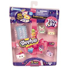 Shopkins 5 Pack Series 7 Assorted