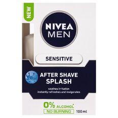 Nivea For Men After Shave Splash Sensitive 100ml