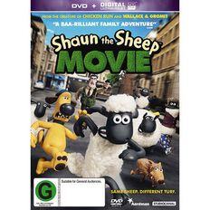 Shaun the Sheep DVD 1Disc