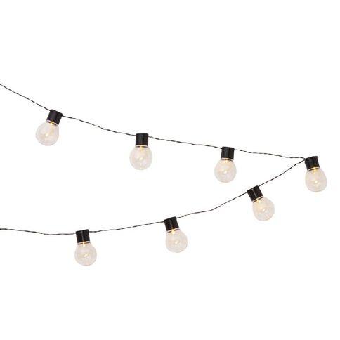 String Lantern Lights Nz : Solar Bulb String Light 10LED The Warehouse
