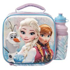 Frozen Disney 3D Insulated Lunch Bag