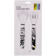 Living & Co Kids' Cutlery Jungle