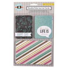 Rosie's Studio Rosie's Lifestyles Journal Cards Love Grows Here 40 Pack
