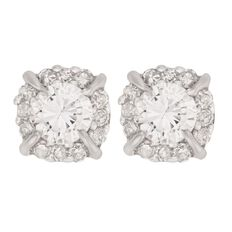 1/4 Carat of Diamonds 9ct Gold Stud Earrings