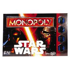 Star Wars Episode 7 Monopoly Game