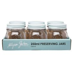 Allyson Gofton Preserving Jar Set 250ml 6 Piece