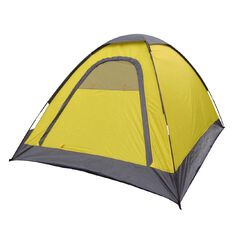 Necessities Brand Sleepout Tent Yellow 2 Person