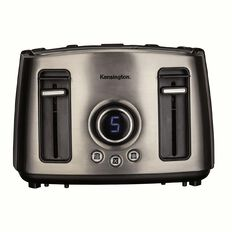 Kensington Toaster 4 Slice Digital Stainless Steel