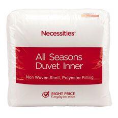 Necessities Brand Duvet Inner All Seasons 255g