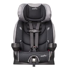 Evenflo Secure Kid Raven Harnessed Booster Car Seat