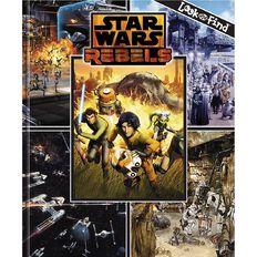 Star Wars Rebels Look & Find Book by P I Kids