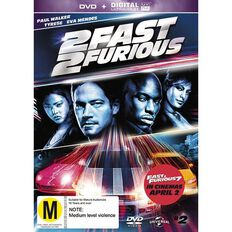 Fast & Furious 2 DVD 1Disc