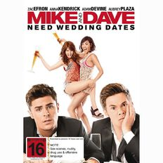 Mike And Dave Need Wedding Dates DVD 1Disc