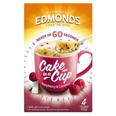 Edmonds Raspberry & Coconut Cake In A Cup 220g