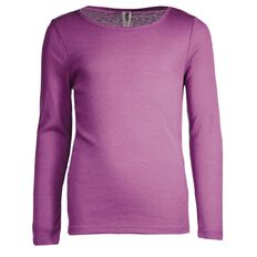 H&H Girls' Polypropylene Long Sleeve Thermal Vest