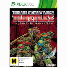 Xbox360 Teenage Mutant Ninja Turtles Mutants in Manhattan