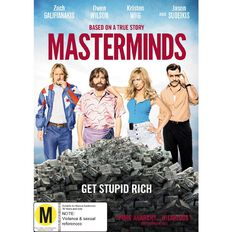 Masterminds DVD 1Disc