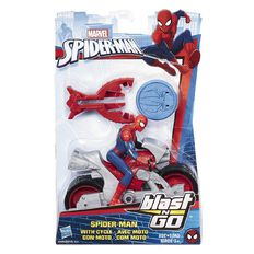 Spider-Man Marvel Animated Blast N Go 3.75 inch Assorted