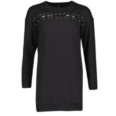 Garage Lace Front Sweater Dress