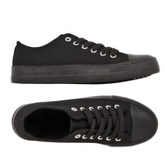 Basics Brand Women's Polly Lo Canvas Shoes