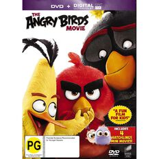 The Angry Birds Movie DVD 1Disc