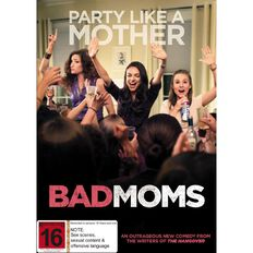 Bad Moms DVD 1Disc