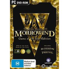 PC Games Elder Scrolls 3 Game of the Year