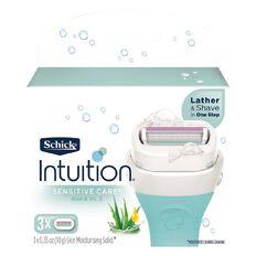 Schick Intuition Plus Sensitive Blades 3 Pack