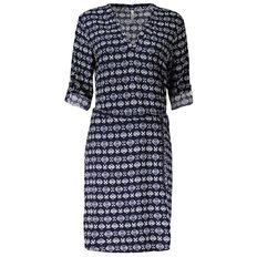 Maya Printed Shirt Dress